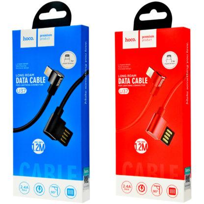 Дата кабель Hoco U37 Long Roam Lightning Cable (1.2m)