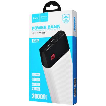 Портативное зарядное устройство PowerBank Hoco J28A Shock 20000 mAh
