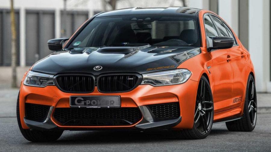 Антигравійні плівки BMW M5 F90 от G-power