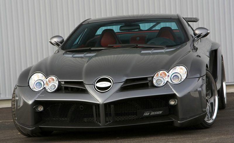 Mercedes-Benz SLR McLaren FAB Design Desire