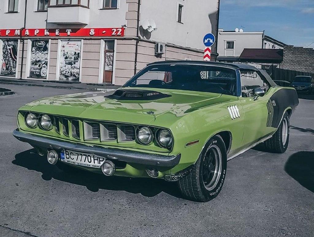 Автомобиль Plymouth Barracuda Hemi 1971