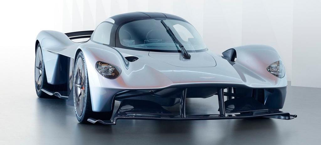 Мощные гибриды №3 - Aston Martin Valkyrie